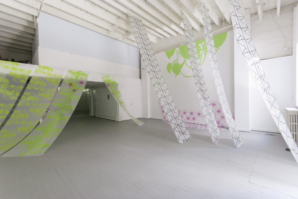 Installation View, Shade Beneath Trees of My Own Planting, 2013