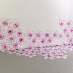 Bloom, Silkscreen on cut polyester film, 2013