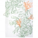 "Future Flower II Silkscreen and monotype on paper and cut polyester film  30""(H) x 25""(W) 2014"